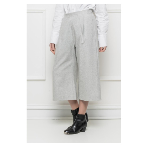 Ryujee ANGORA kalhoty široké šedé