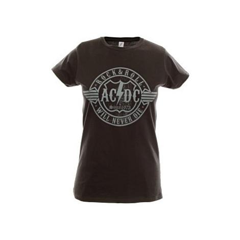 Dámské triko AC/DC černé