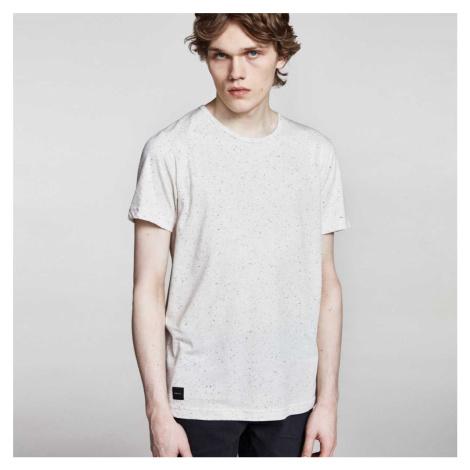 Krémové triko Makia