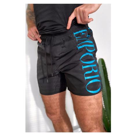 Emporio Armani Underwear Emporio Armani plavky pánské - černé
