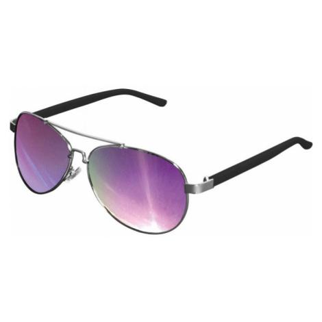 Sunglasses Mumbo Mirror - silver/purple Urban Classics