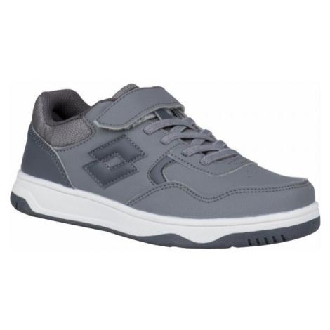 Lotto TRACER NU CL SL šedá - Chlapecká volnočasová obuv
