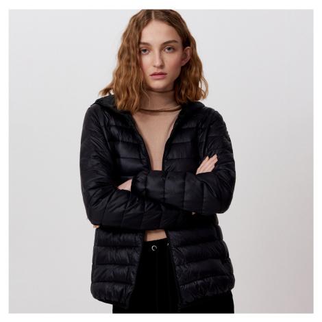 Cropp - Prošívaná péřová bunda - Černý