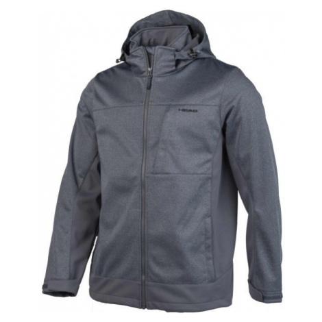 Head ZELMO šedá - Pánská softshellová bunda