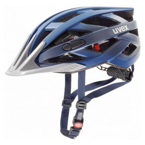 Cyklistická helma Uvex I-VO CC darkblue metallic mat