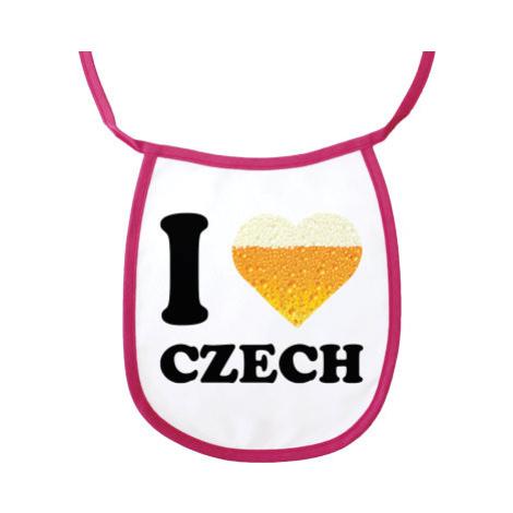 Bryndák holka I love czech beer