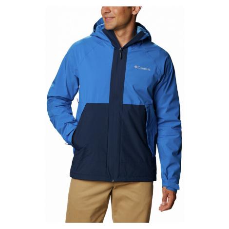 Bunda Columbia Evolution Valley™ Jacket M - tmavě modrá/světle modrá