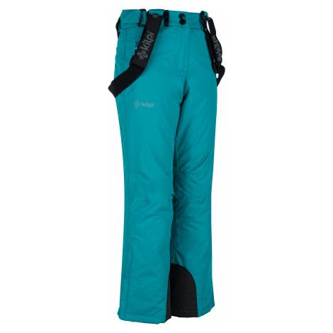Dětské zimní lyžařské kalhoty KILPI ELARE-JG tyrkysová