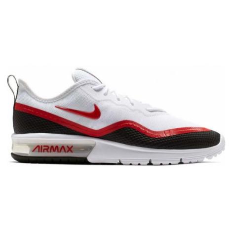 Nike AIR MAX SEQUENT 4.5 SE červená - Pánská volnočasová obuv