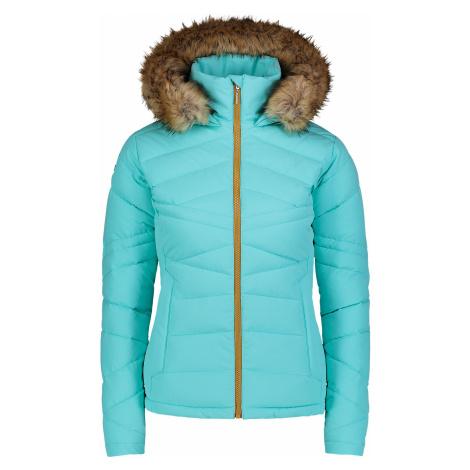 Nordblanc Pucker dámská zimní bunda tyrkysová