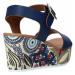 Grace Shoes 07 Modrá
