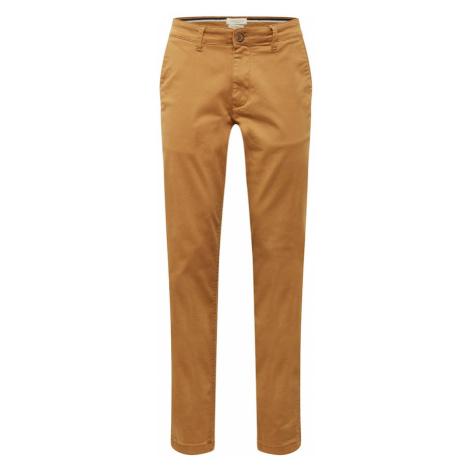 SELECTED HOMME Chino kalhoty velbloudí