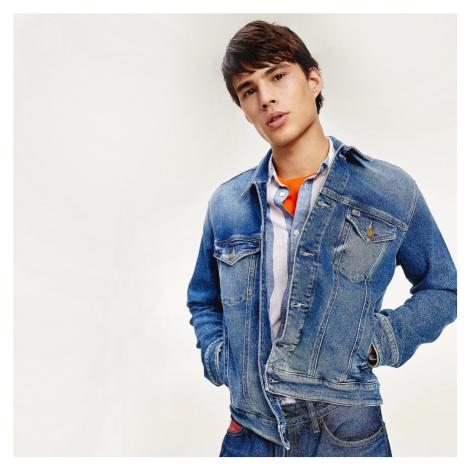 Tommy Jeans pánská džínová bunda Trucker Tommy Hilfiger