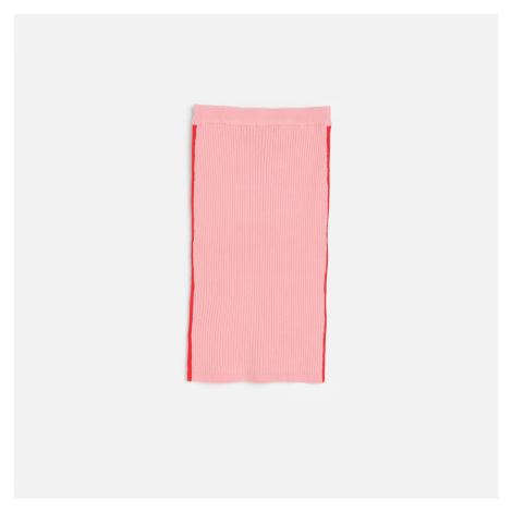 Reserved - Žerzejová pouzdrová sukně - Červená