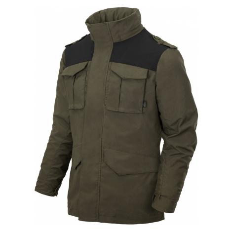 Bunda Covert M65 Helikon-Tex® – Taiga Green / černá