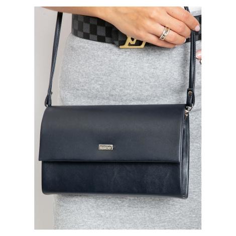 Navy blue clutch bag Fashionhunters