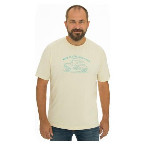Pánské tričko BUSHMAN BOBSTOCK II krémová