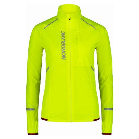 Nordblanc Barrier dámská cyklistická bunda žlutá