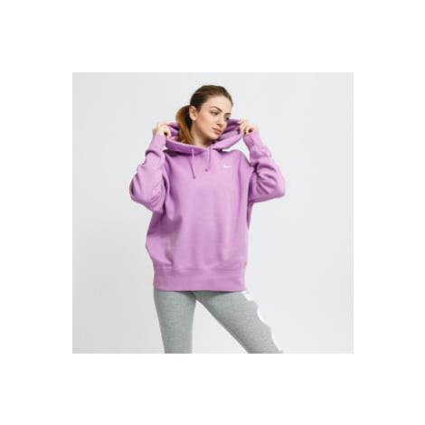 Nike W NSW Hoodie Fleece Trend fialová