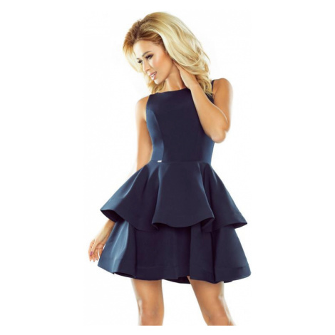 Dámské šaty Numoco 169-2   tmavě modrá