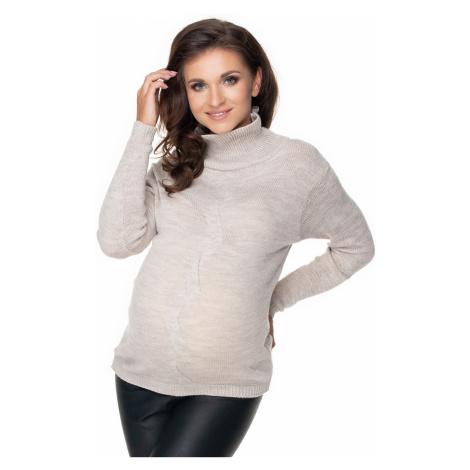 Těhotenský svetr model 135963 PeeKaBoo one-size-fits-all Pee Ka Boo