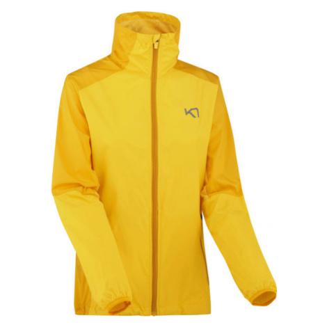 KARI TRAA NORA JACKET žlutá - Dámská sportovní bunda