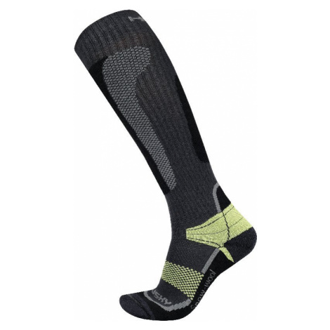 Husky Snow Wool zelená, Ponožky