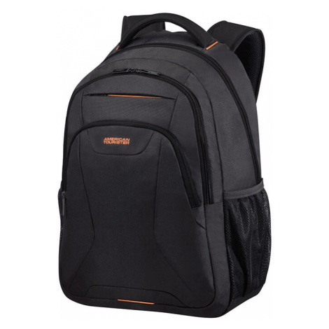 """American Tourister Batoh At Work Laptop Backpack 33G 34 l 17.3"""" - černá/oranžová"""