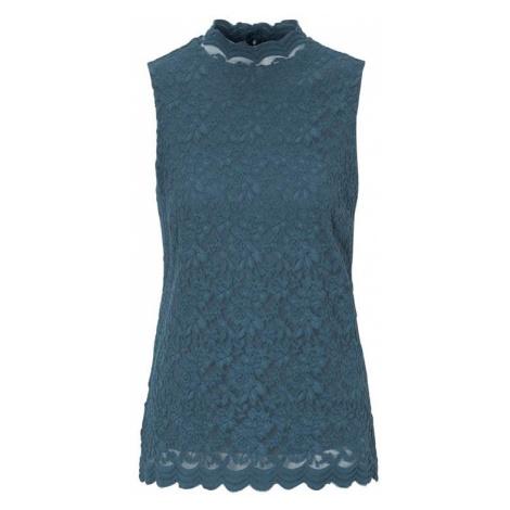 Krajkové tričko bez rukávů Azzurra Cellbes
