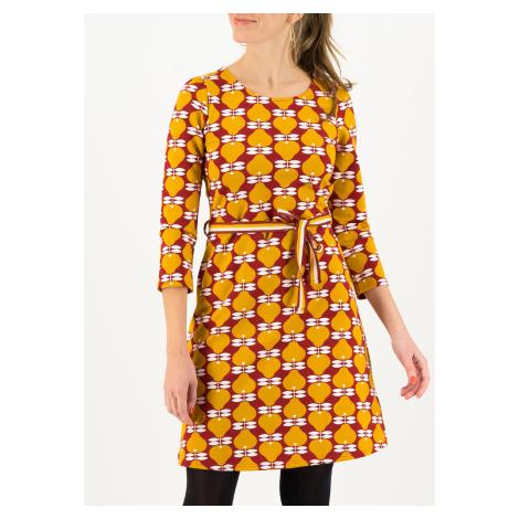 Áčkové šaty žluté Blutsgeschwister Pear me up