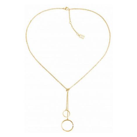 Tommy Hilfiger Moderní pozlacený náhrdelník TH2780151