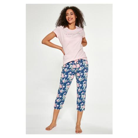 Dámský 3-dílný pyžamový set Beautiful vícebarevná Cornette