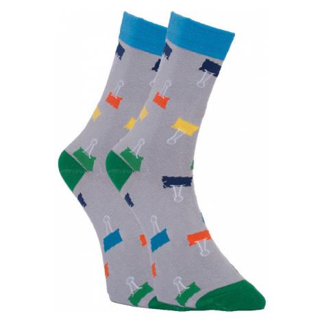 Veselé ponožky Dots Socks sponky (DTS-SX-429-S) L