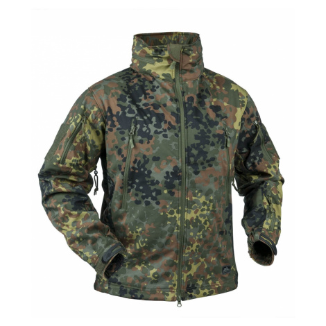Softshellová bunda Gunfighter Windblocker Helikon-Tex® - flecktarn
