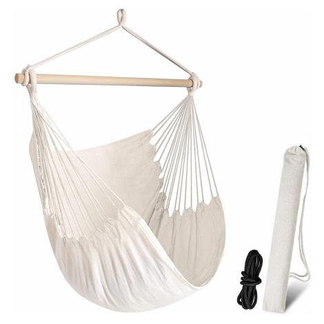 Houpací relaxační křeslo pro maximální pohodlí CHIHEE Barva: Bílá