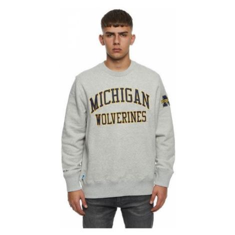 Mitchell & Ness sweatshirt Michigan Wolverines grey NCAA Play Off Win Crew