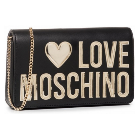 LOVE MOSCHINO LOVE MOSCHINO dámská crossbody černá kabelka