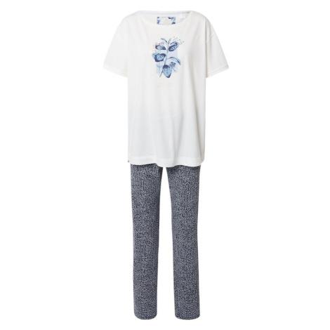 TRIUMPH Pyžamo světlemodrá / noční modrá / bílá / růžová