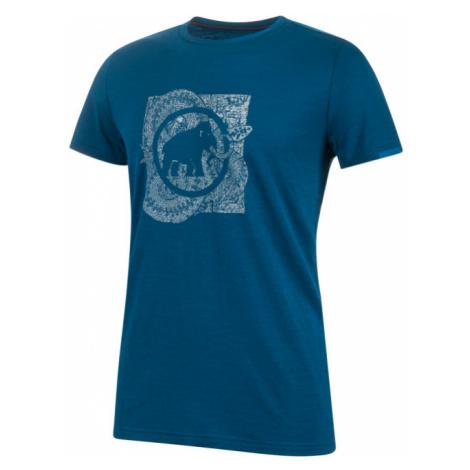 Pánské tričko Mammut Alnasca T-Shirt Men poseidon