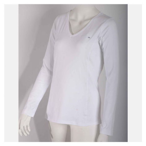 NanoBodix® STILL triko s dlouhým rukávem a V-výstřihem Bílá Dámské