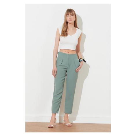 Trendyol Mint High Waist Pants