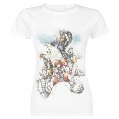 Kingdom Hearts Drawing Dámské tričko bílá