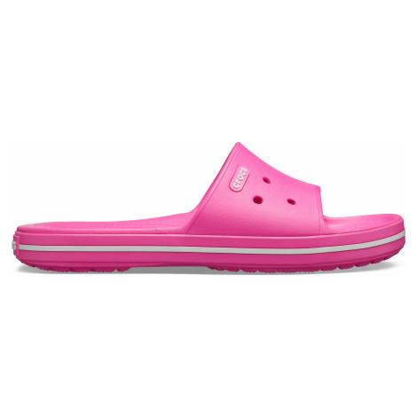 Crocs Crocband III Slide Electric Pink/White