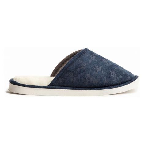 Papuče WARMY Modré Dámské Oldcom