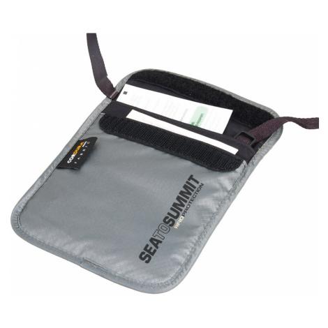 Sea to Summit pouzdro na krk TL Passport Pouch RFID grey
