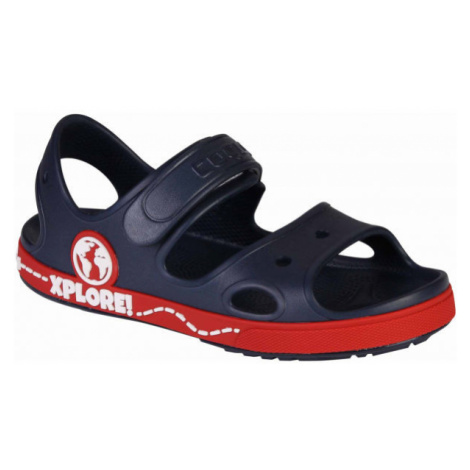Coqui YOGI tmavě modrá - Dětské sandály