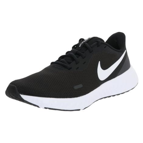 NIKE Běžecká obuv 'Revolution 5' bílá / černá