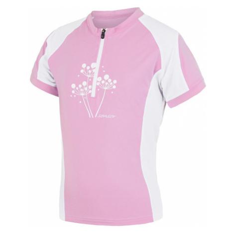 CYKLO ENTRY Dívčí cyklo dres 15100103 růžová/bílá Sensor