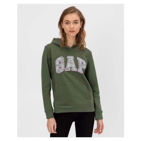 GAP zelená dámská mikina s logem