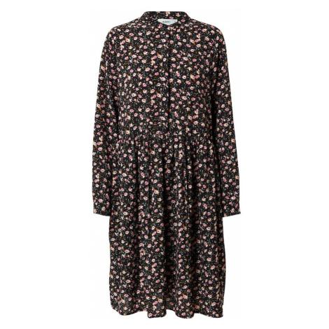 Moves Šaty 'Danisa' černá / mix barev / světle růžová